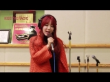 RADIO 150123 Hyeji singing Beyonces Broken-Hearted Girl on KBS Kiss The Ra