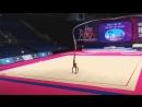 Дарья Трубникова булавы командное многоборье Международный турнир юниорок Холон,Израиль 2018