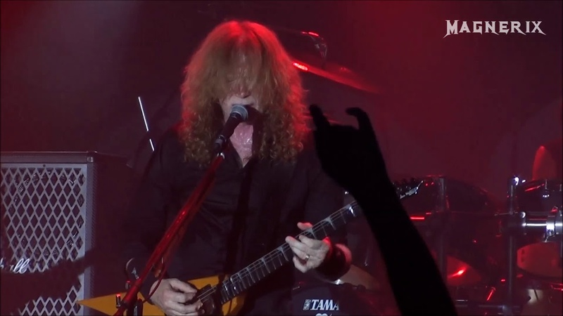 Megadeth - Poison Was The Cure, live at KB, Malmö Sweden 2018-06-06