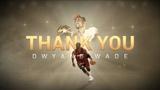 Los Angeles Lakers' Tribute Video for Dwyane Wade - Heat vs Lakers Dec 10, 2018