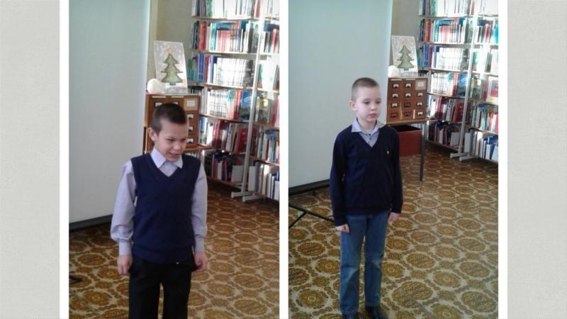 Любознательные юные читатели библиотеки им Маяковского