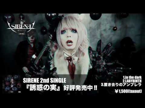 SIRENE「in the dark」【OFFICIAL MUSIC VIDEO [FULL] 】2019年4月2日(火)恵比寿club aim ワンマン決定‼︎(入場28