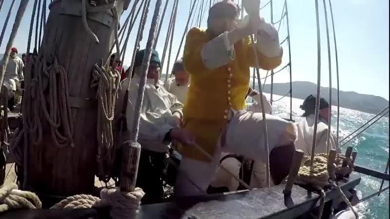 Чешский бриг La Grace и русская команда. Мы действующая группа моряков и кадетов. Главный приоритет-это сохранение старых морски