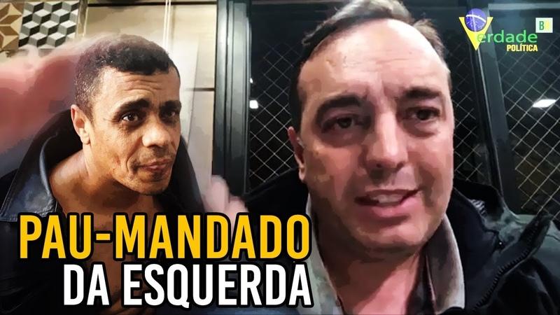 Delegado Francischini afirma: 'AGRESSOR' de BOLSONARO é pau-mandado
