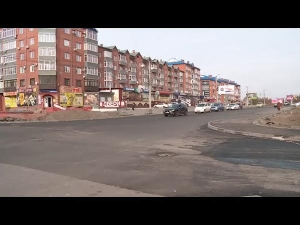 В Бийске открыли для движения перекрёсток ул. Советская - Стахановская (Бийское телевидение)