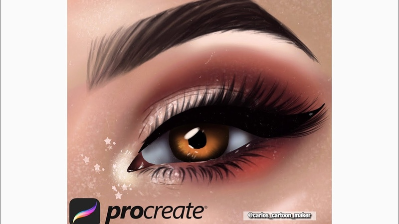 EYE TUTORIAL ON PROCREATE ✨