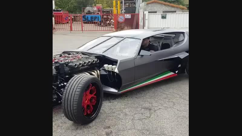 Корч Lamborghini Espada