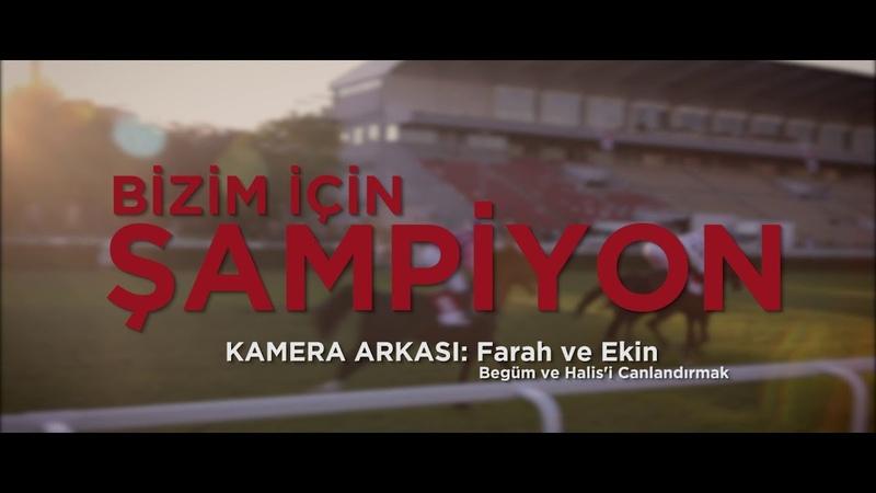 Şampiyon Kamera Arkası Farah ve Ekin