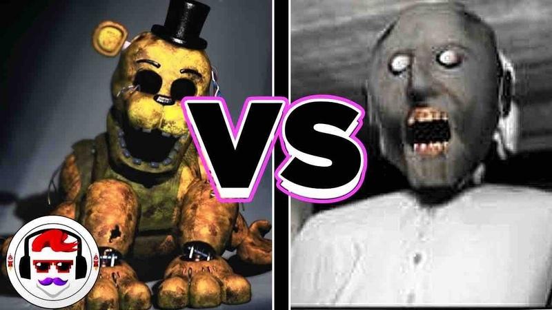 Five Nights at Freddy's VS Granny Rap Battle | Like It | RockitGaming