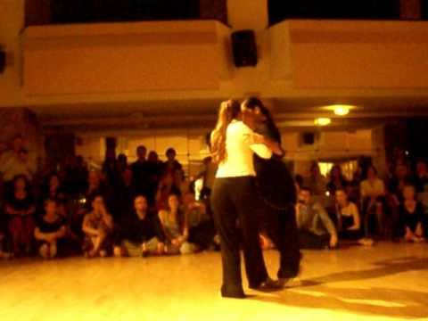 Ariadna Naveira and Mariangeles Caamano are dancing at 7th Ljubljana Tango Festival - 2011-03-27
