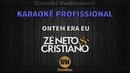 Zé Neto e Cristiano ONTEM ERA EU Karaokê Profissional Versão Vithor Hugo Studios