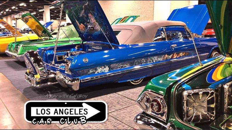 Los Angeles car club line up! (watch in HD)