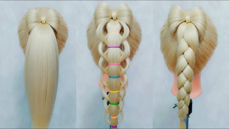 Peinados Faciles para Niñas, Coletas y Moños by Belleza sin Limites