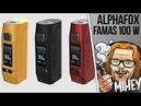 Alphafox Famas 100W Tc Mod. Чё прям разгромил. 🎷🎻🎹🎸