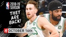 Kyrie Irving Gordon Hayward Full Highlights Celtics vs 76ers 2018.10.16 - The RETURN!