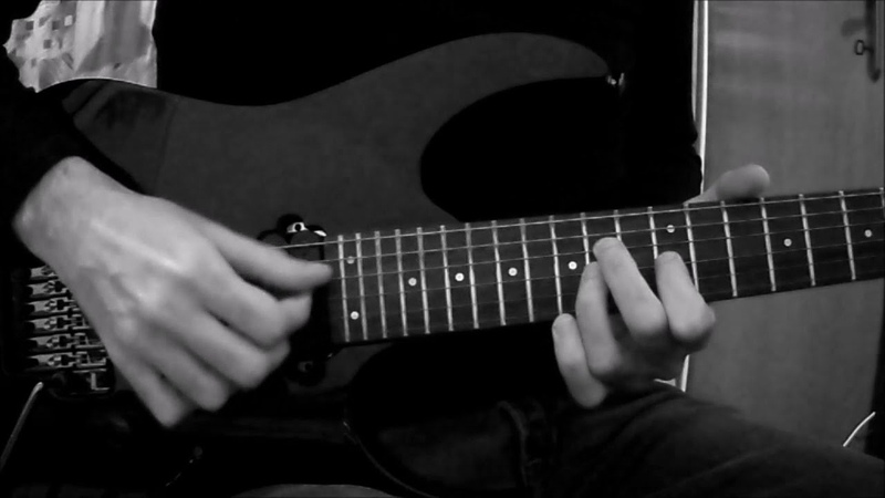 The Crow Inferno electric guitar solo cover