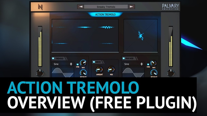 FREE VST AU AAX Plugin - Action Tremolo - Overview Video