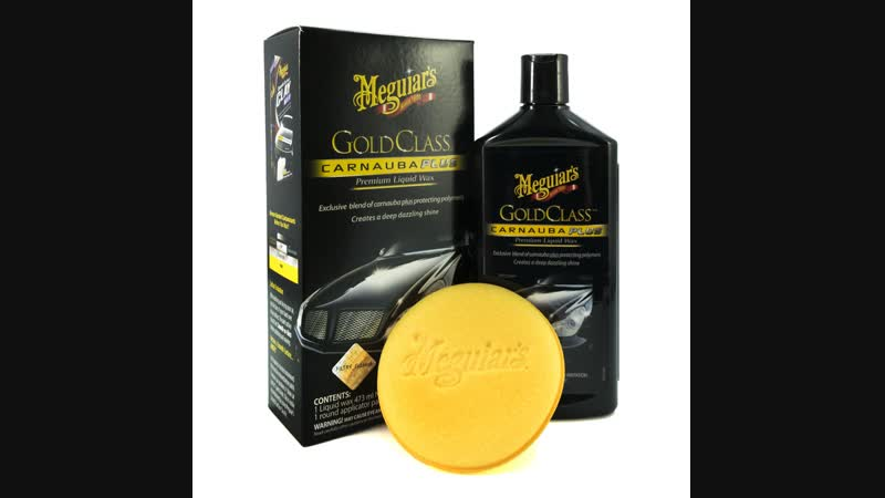 Автомобильная полироль Meguiar's Gold Class Carnauba Plus