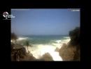 Así vieron los turistas las marejadas de Acapulco