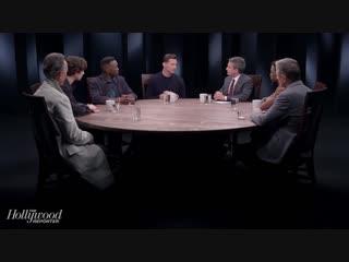 Круглый стол с голливудскими актёрами для печатного издания «The Hollywood Reporter»
