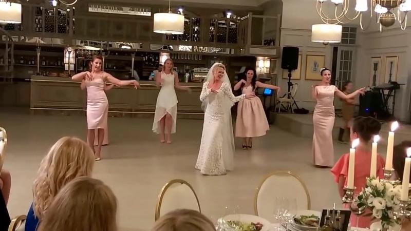 Танец невесты и подружек 720
