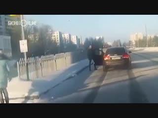 В Челнах нашли водителя иномарки, ударившего пенсионера на зебре