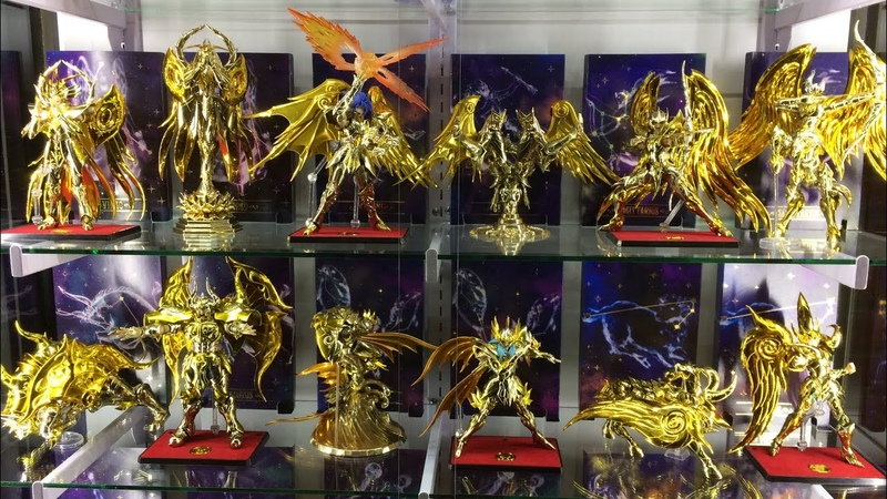 Coleccion Saint Seiya Myth Cloth EX Soul of Gold