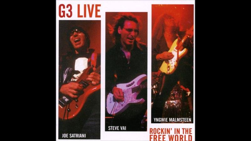 Joe Satriani/Steve Vai/Yngwie Malmsteen - G3 Live Rockin' In The Free World (2004) (CD, Russia) [HQ]