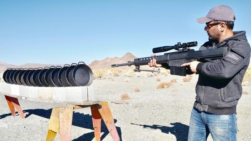 Крупнокалиберная винтовка из Fortnite против чугунных сковородок из PUBG   Edwin Sarkissian
