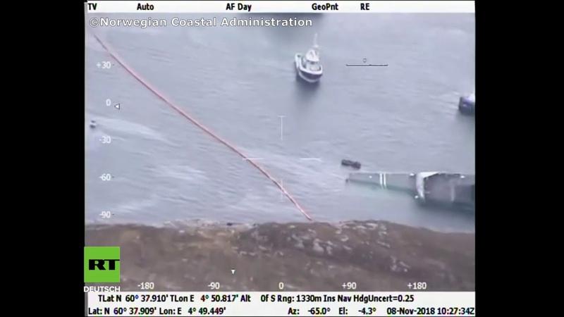 Es strömt mehr Wasser ein, als man abpumpen kann: NATO-Fregatte droht ganz zu sinken