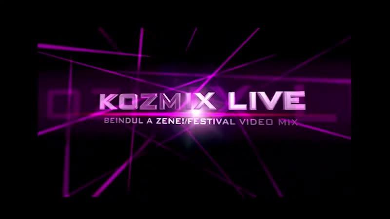 Kozmix Beindul a Zene Festival Video Mix Official 2014