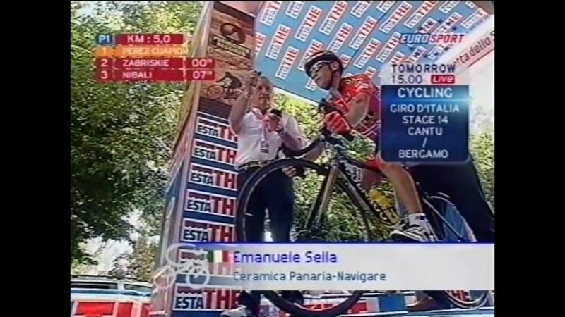 Giro dItalia 2007 stage 13 25 May Biella to Santuario di Oropa ITT