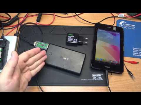ТЕСТ РЕАЛЬНОЙ ЁМКОСТИ AUKEY PB-Y3 30000mAh Power Bank Portable Charger Quick Charge 3.0