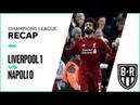 Champions League Recap: Liverpool 1-0 Napoli Highlights, Goals and Best Moments