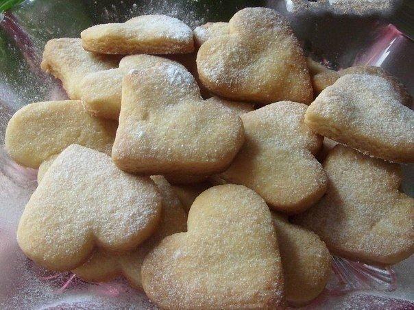 Вкусное домашнее песочное печенье