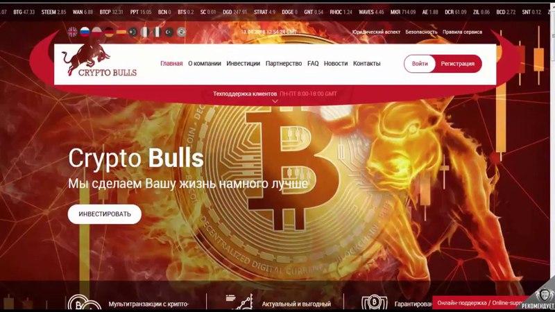 Презентация Crypto Bulls - Крипто Быки