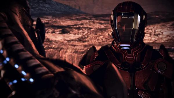 Mass Effect 3 - Другая концовка-фантазия-импровизация