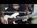 Jaco Pastorius Pentatonics - Part 2 | Kuru/Speak like a child exerpt | jacopastorius