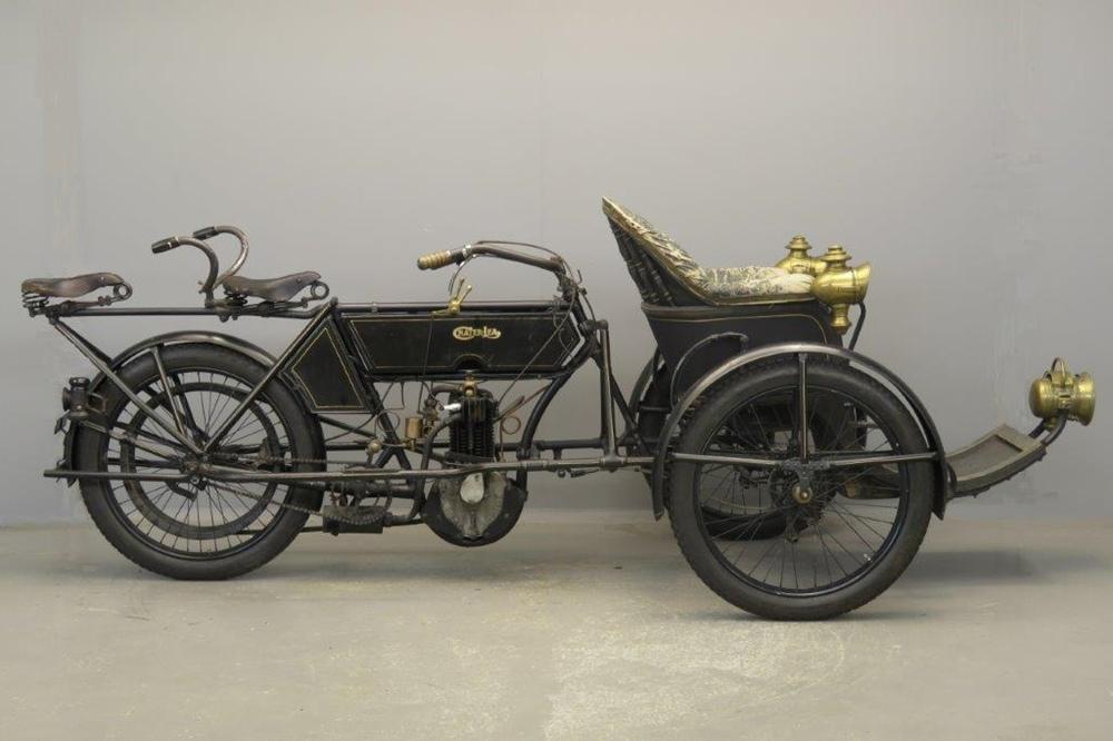 Пассажирский трицикл Chater-Lea 1903