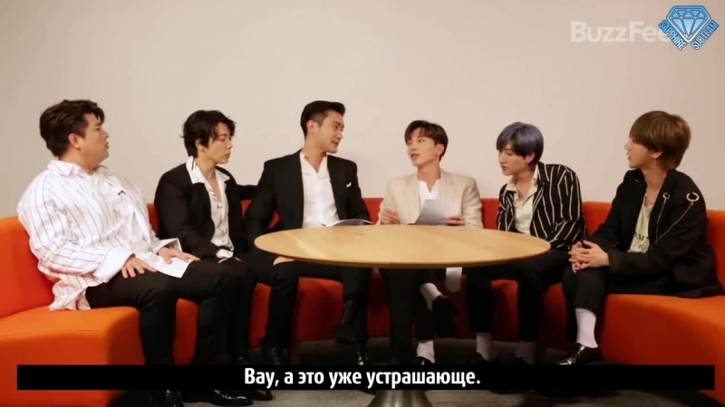 [Sapphire SubTeam] 180721 Super Junior Plays Would You Rather (рус.саб)