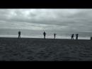 прогулки по черному пляжу