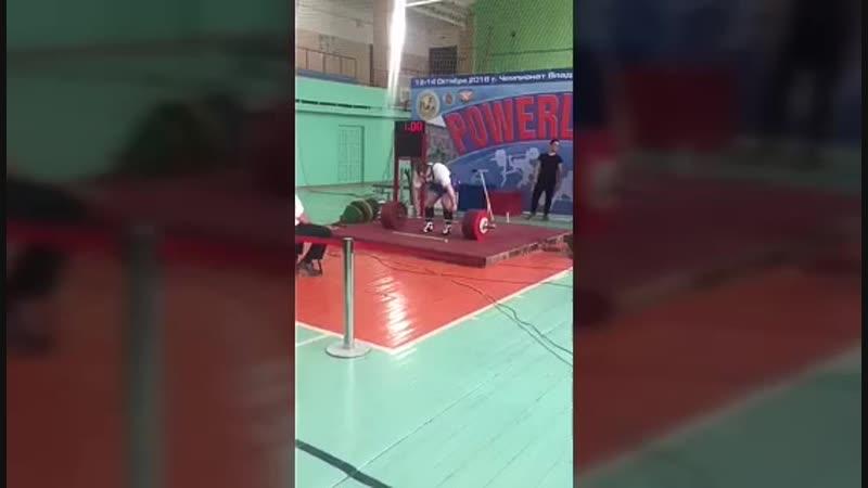 Ларин Евгений - кандидат в мастера спорта по пауэрлифтингу