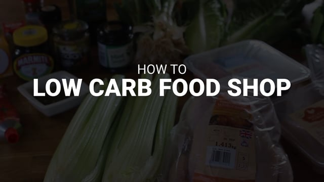 Food Shopping - Low Carb Program