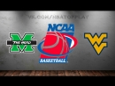 Marshall Thundering Herd vs West Virginia Mountaineers 18.03.20182nd RoundNCAAM March Madness 2018Виасат Viasat Sport HD RU