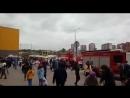 В торговом центре Иркутска произошел пожар