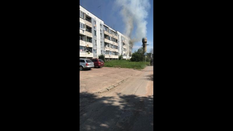 Пожар в п. Гончарово