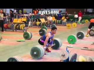 Жанг Джи - толчок 180 кг