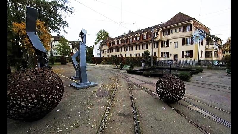 Bern Trams - Driver's Eye View - Part 1