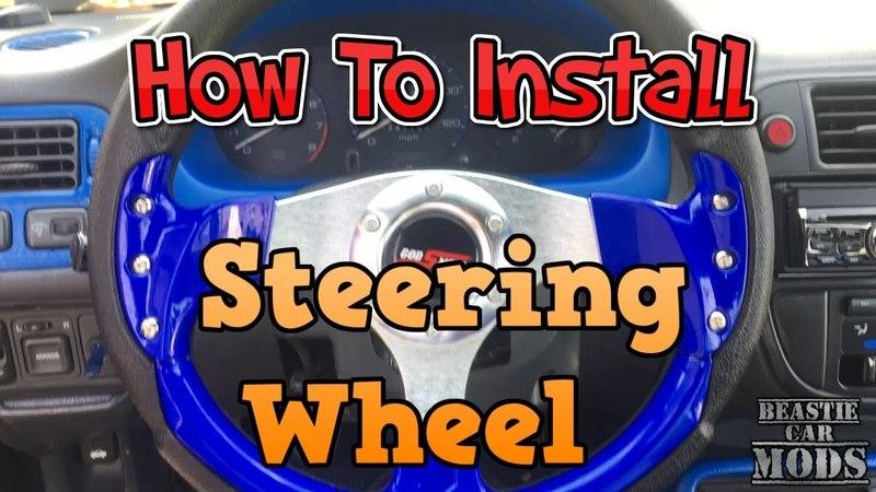 96 - 00 Honda Civic - How To Install Steering Wheel