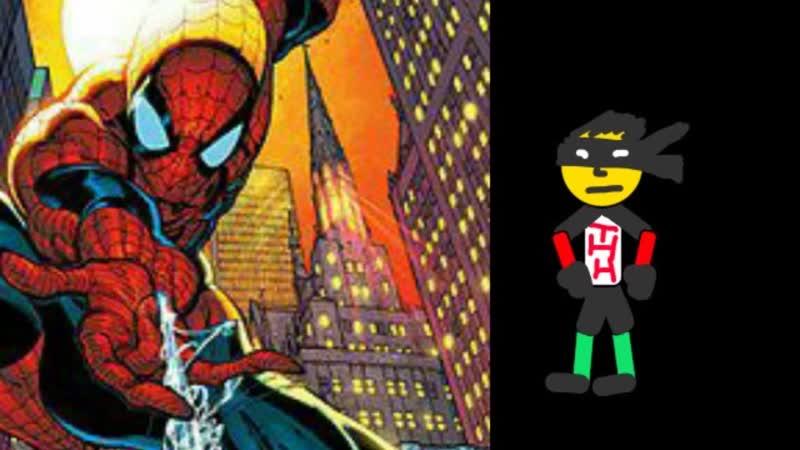 Человек-ТНН против Человека-Паука (Юра Гетьманець,Getman Animation)